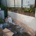 【日記&リフォーム】:家族でリフォーム・その2(モルタル壁塗り)