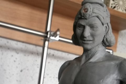 【美術&日記】:クリシュナ神&アルジュナ(バガヴァッドギータより)-その①